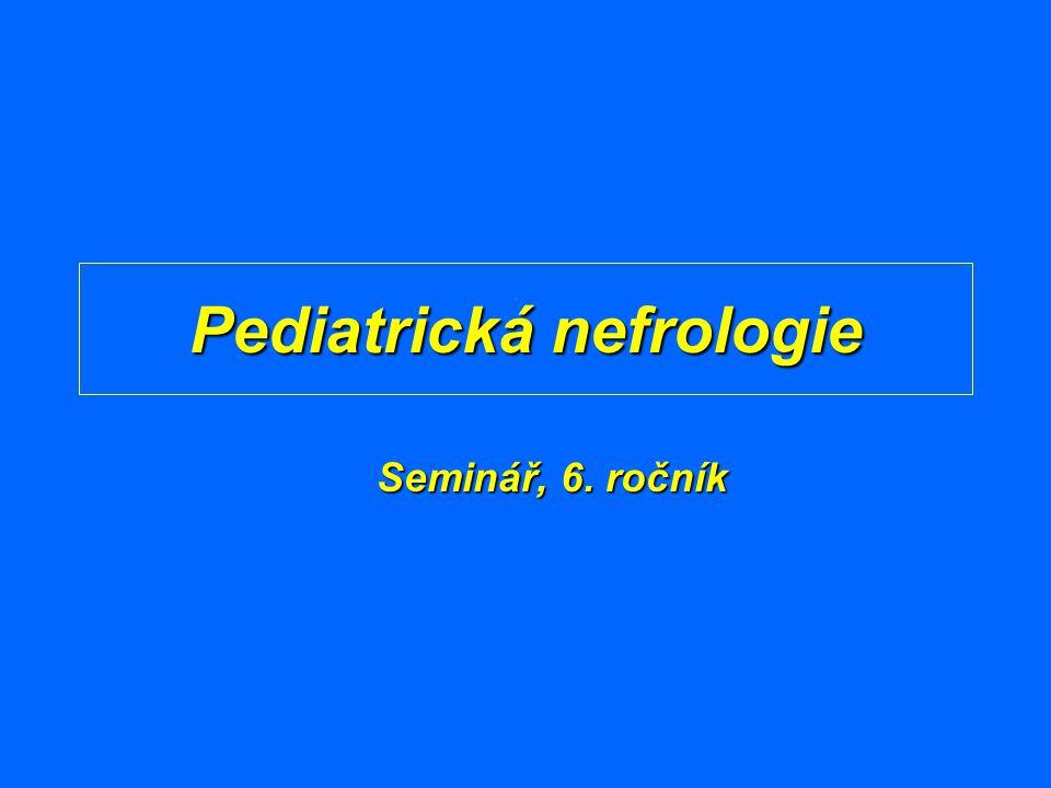 Pediatrická nefrologie