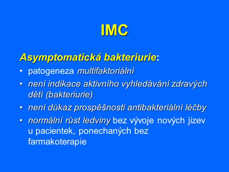IMC Asymptomatická bakteriurie: patogeneza multifaktoriální