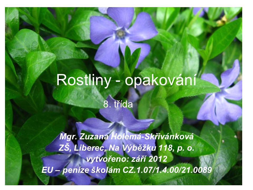 Mgr. Zuzana Holemá-Skřivánková ZŠ, Liberec, Na Výběžku 118, p. o.