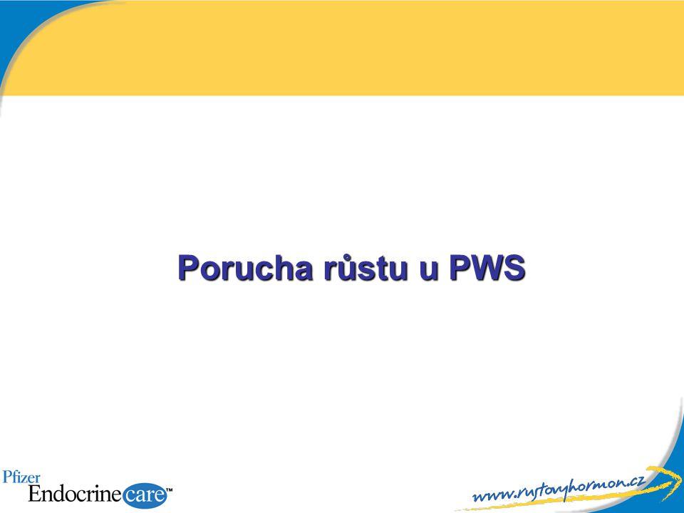 Porucha růstu u PWS