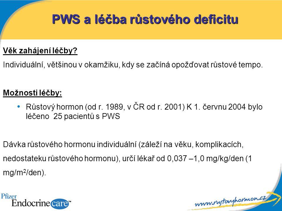 PWS a léčba růstového deficitu