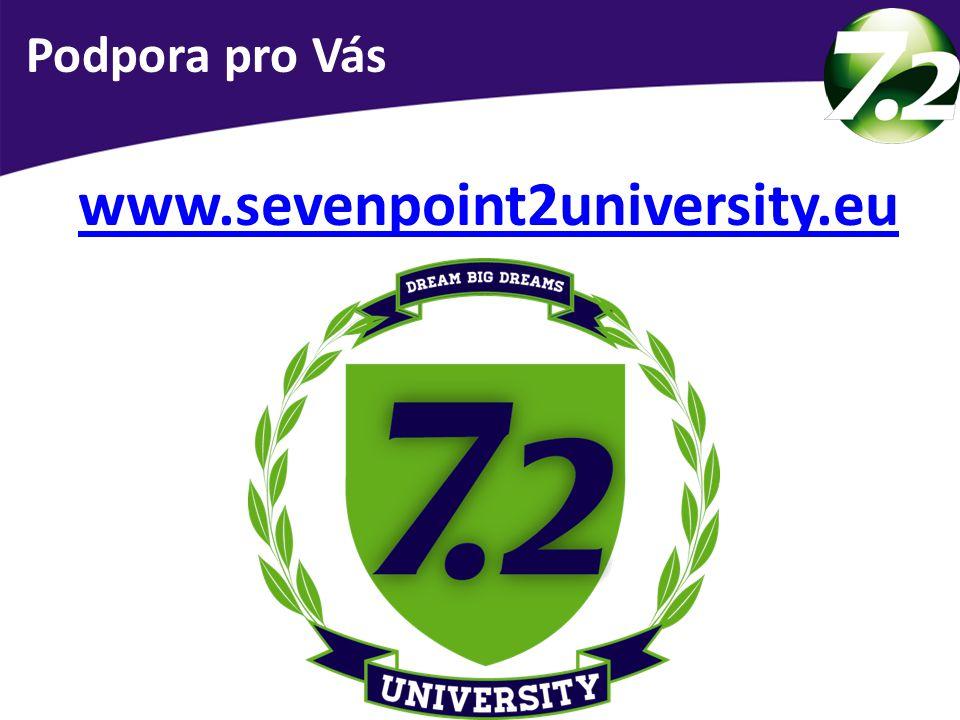 Podpora pro Vás www.sevenpoint2university.eu