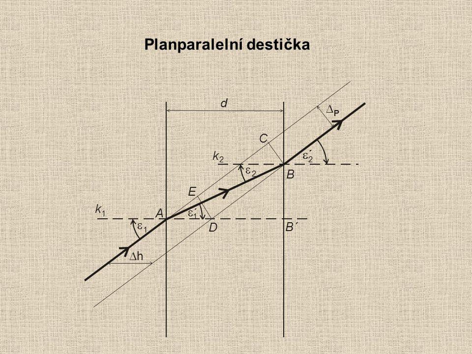 Planparalelní destička