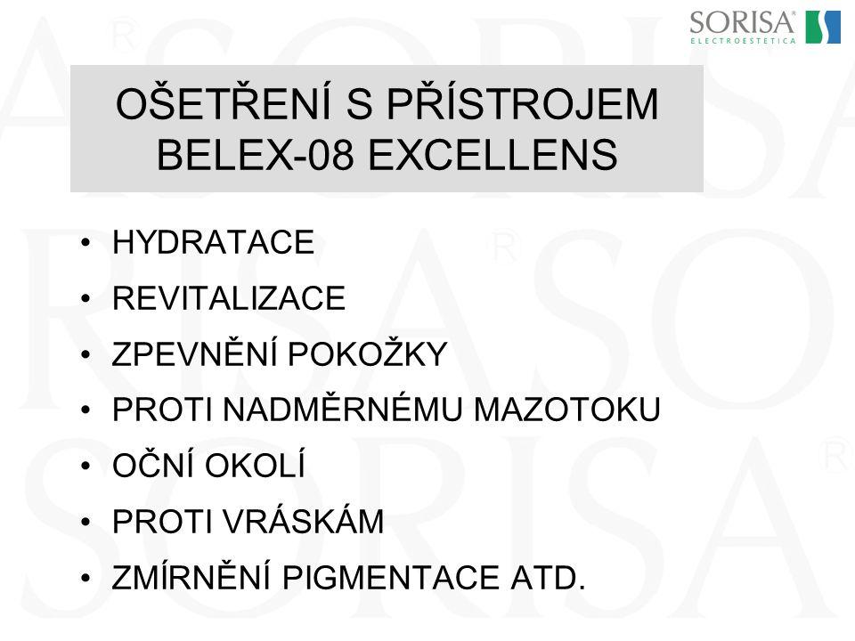 OŠETŘENÍ S PŘÍSTROJEM BELEX-08 EXCELLENS