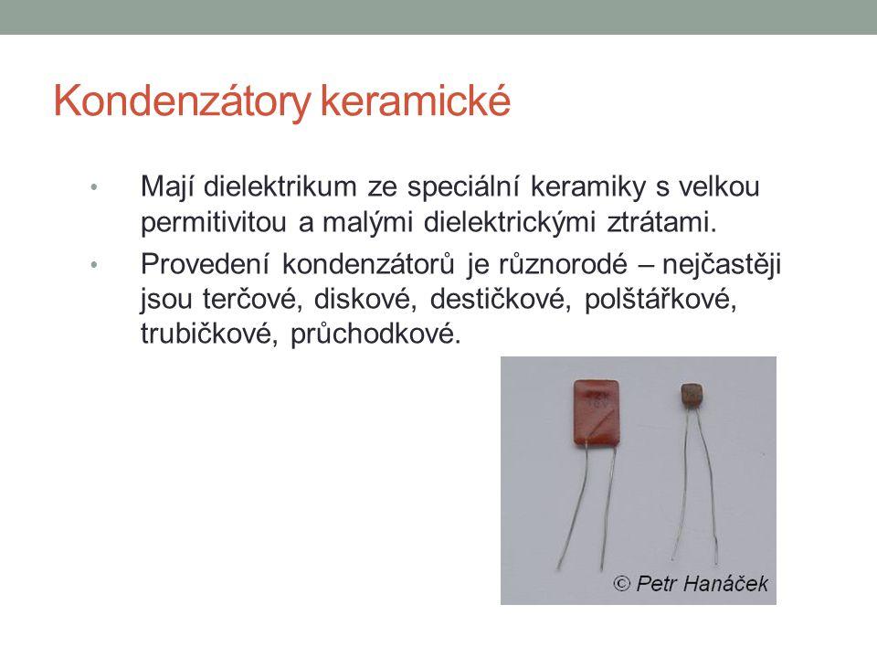 Kondenzátory keramické