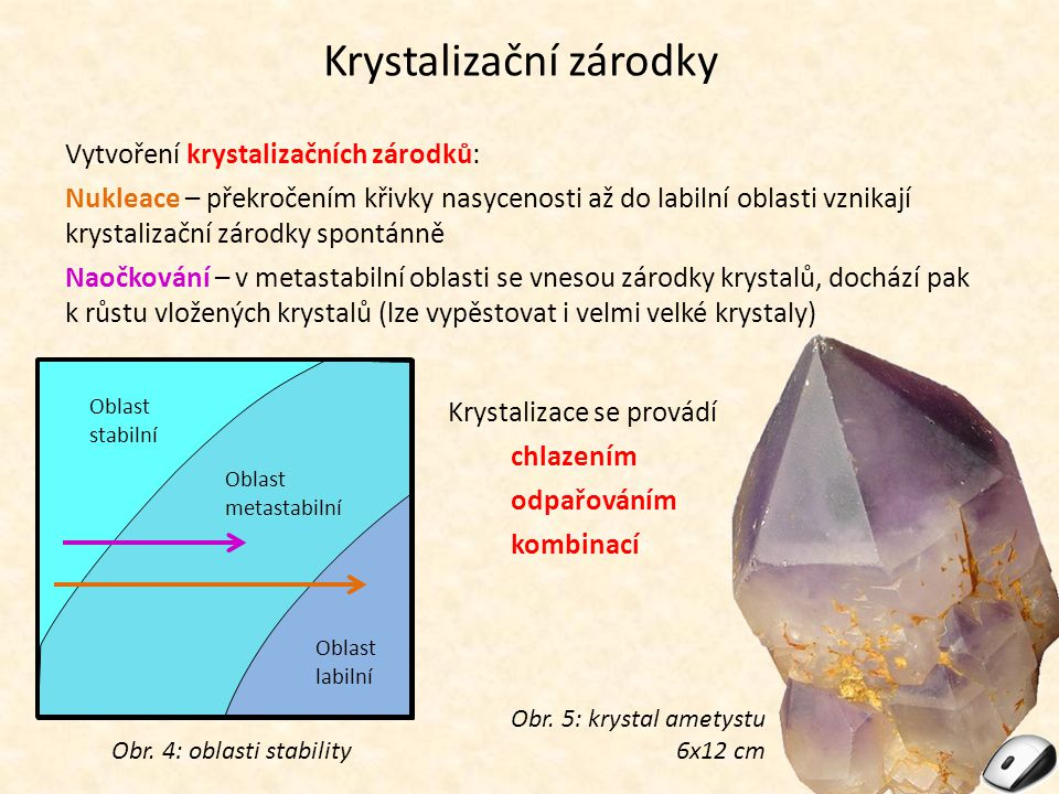 Krystalizační zárodky