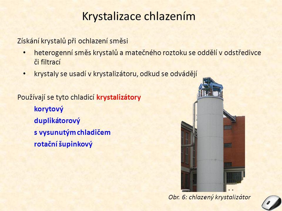 Krystalizace chlazením