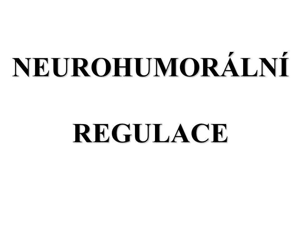 NEUROHUMORÁLNÍ REGULACE