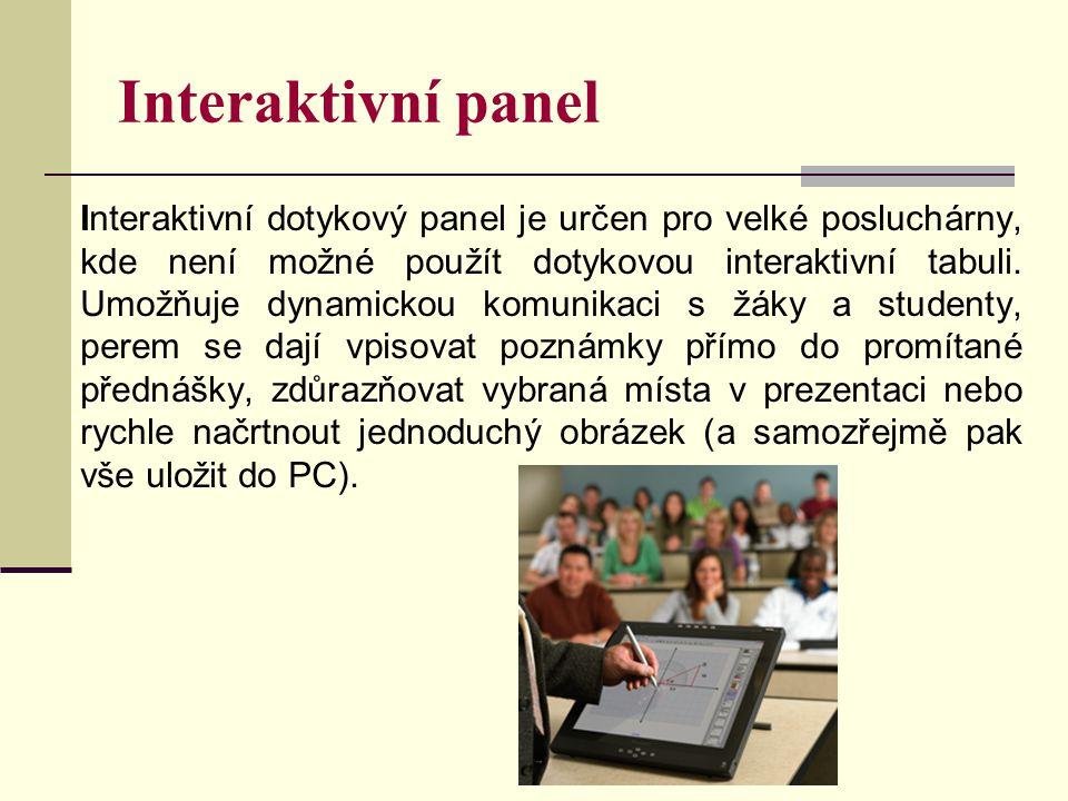 Interaktivní panel