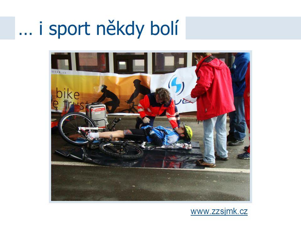 … i sport někdy bolí www.zzsjmk.cz