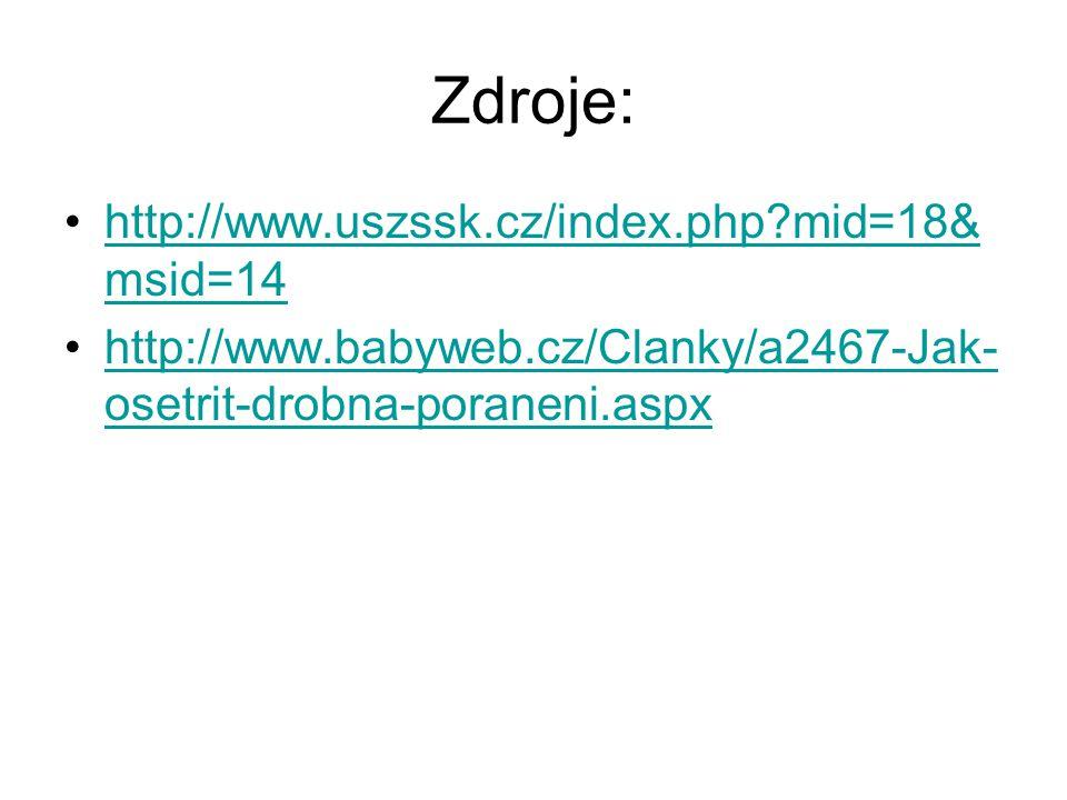 Zdroje: http://www.uszssk.cz/index.php mid=18&msid=14