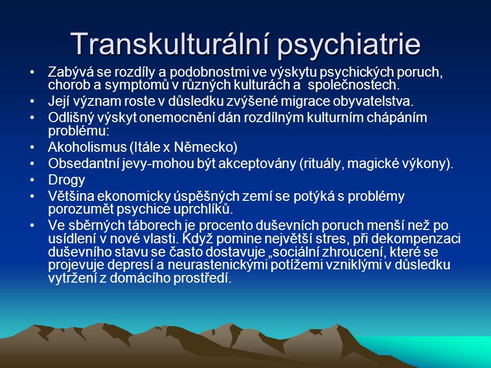 Transkulturální psychiatrie