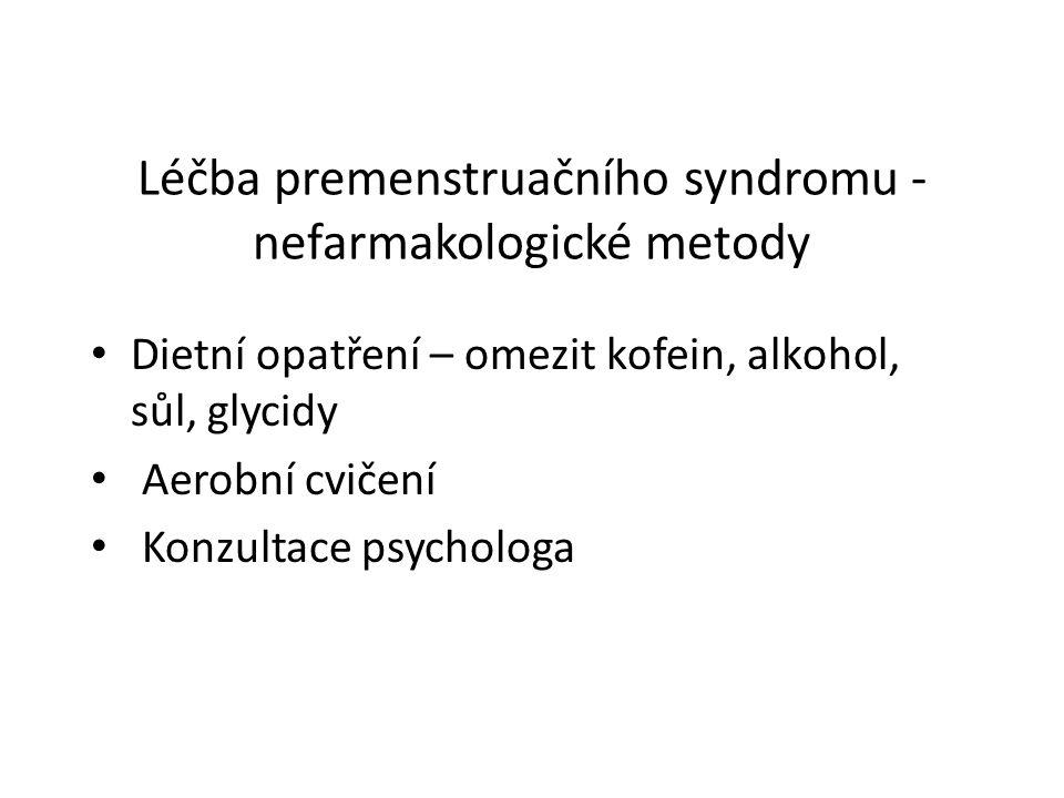 Léčba premenstruačního syndromu - nefarmakologické metody