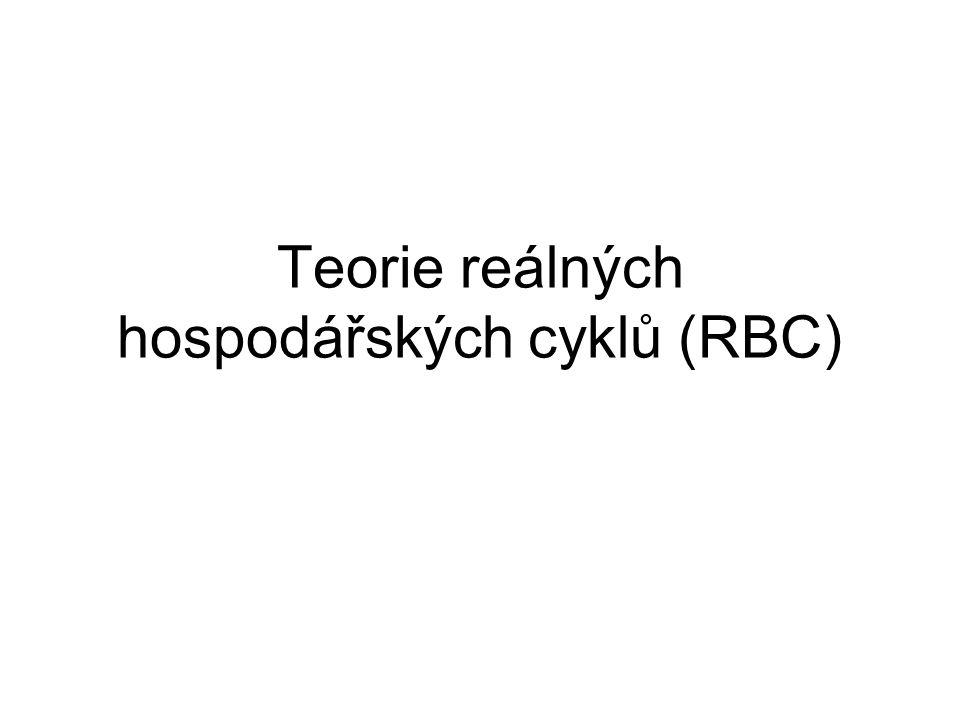 Teorie reálných hospodářských cyklů (RBC)