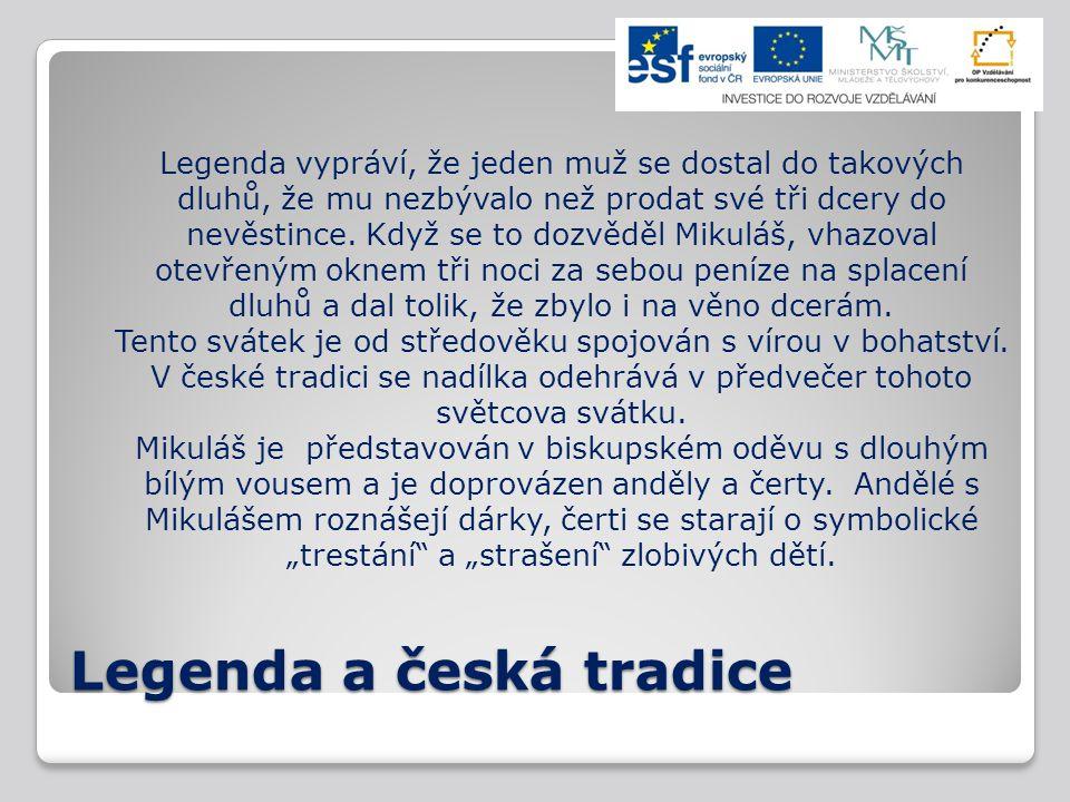 Legenda a česká tradice