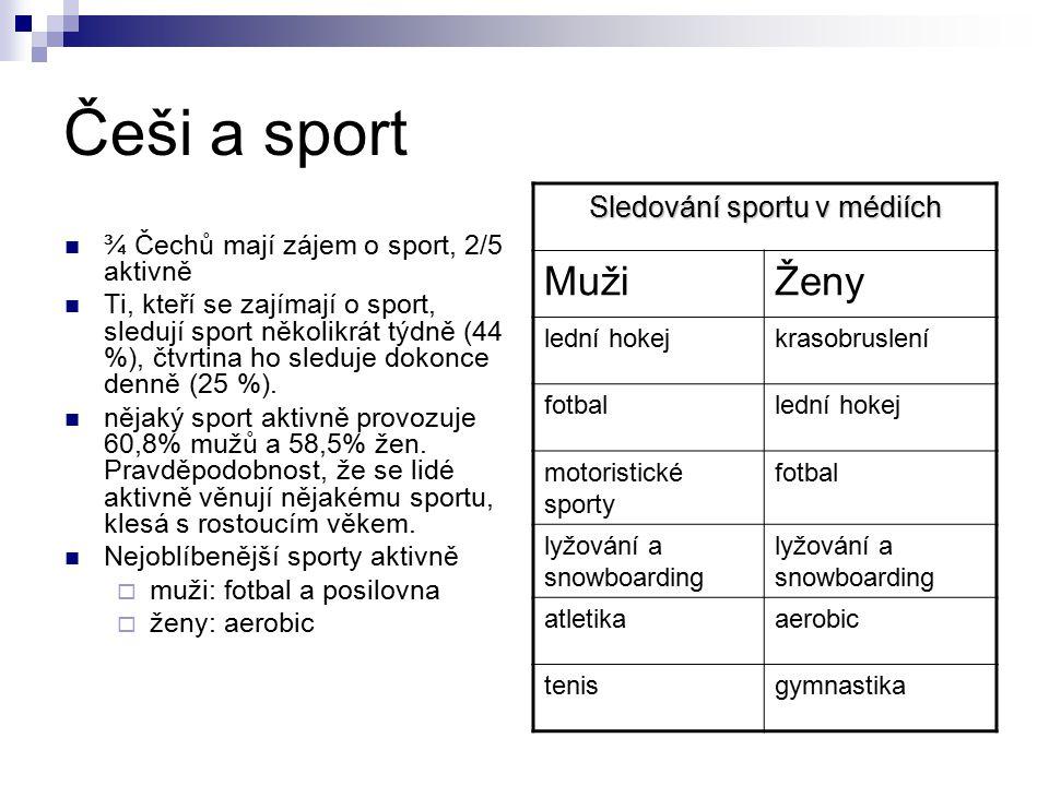 Sledování sportu v médiích