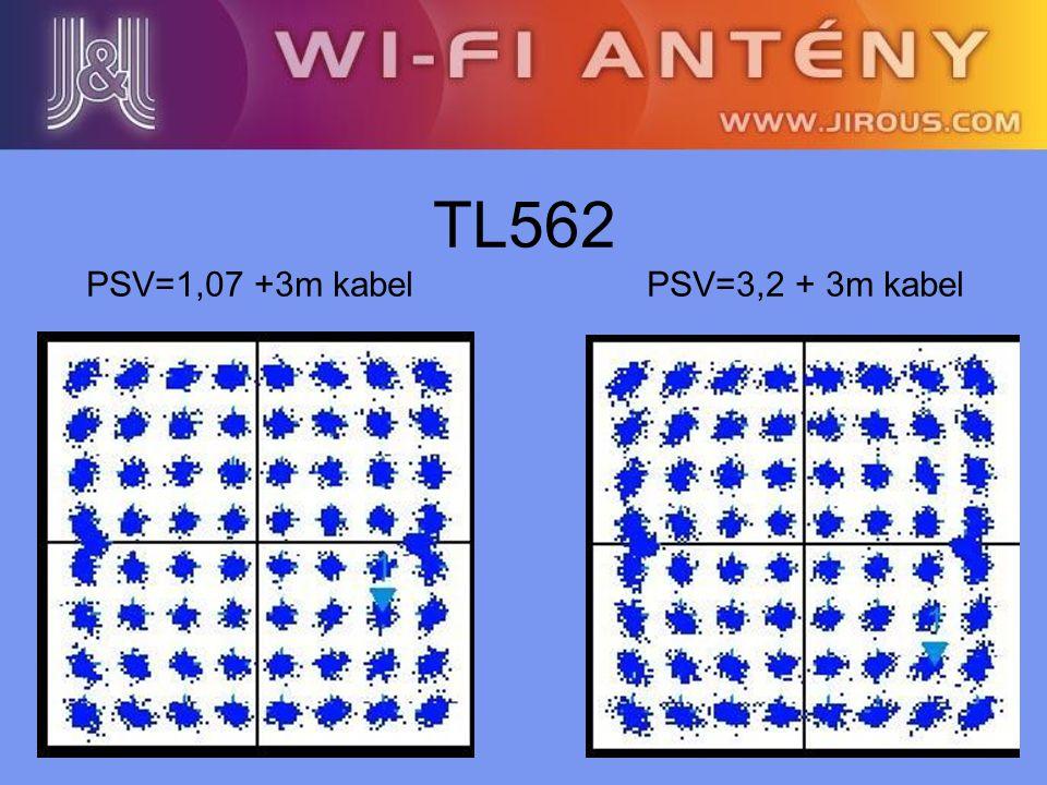 TL562 PSV=1,07 +3m kabel PSV=3,2 + 3m kabel