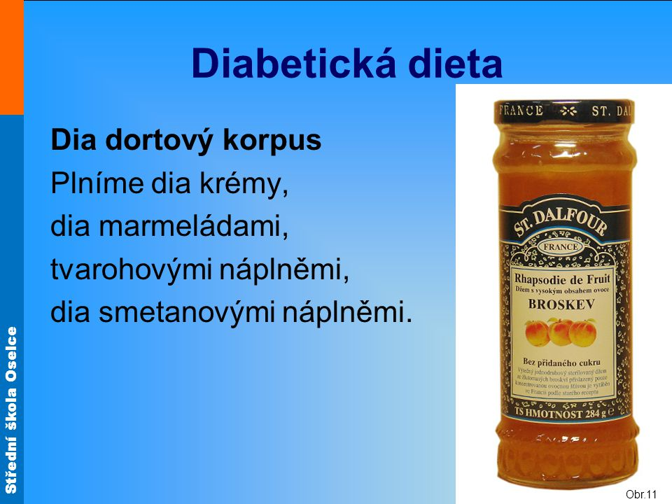 Diabetická dieta Dia dortový korpus Plníme dia krémy, dia marmeládami,