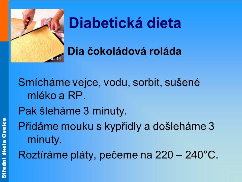 Diabetická dieta Dia čokoládová roláda