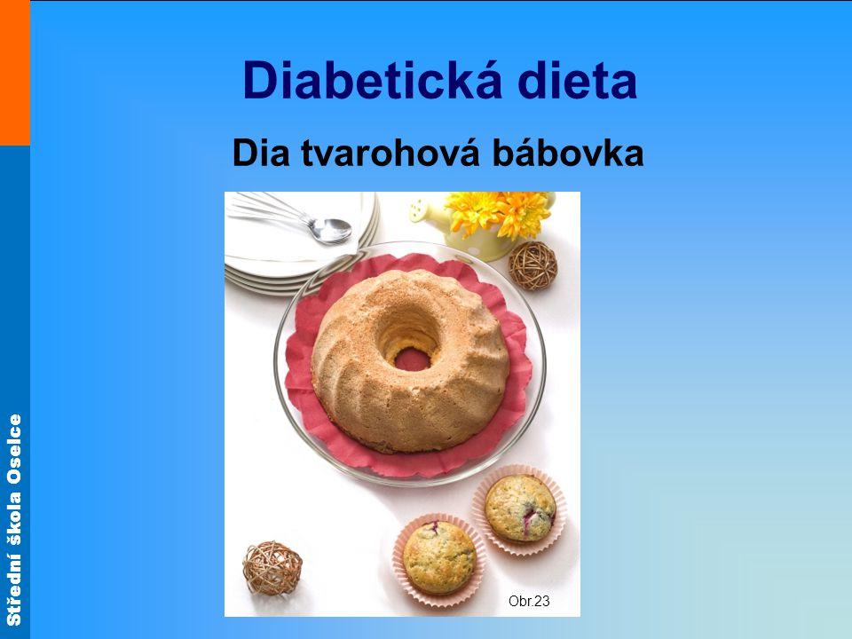 Diabetická dieta Dia tvarohová bábovka Obr.23