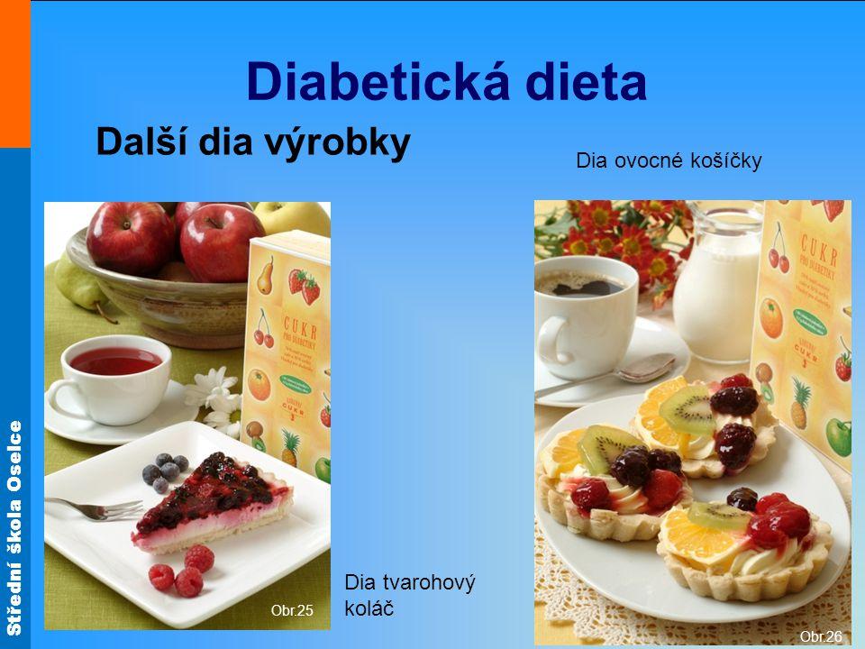 Diabetická dieta Další dia výrobky Dia ovocné košíčky