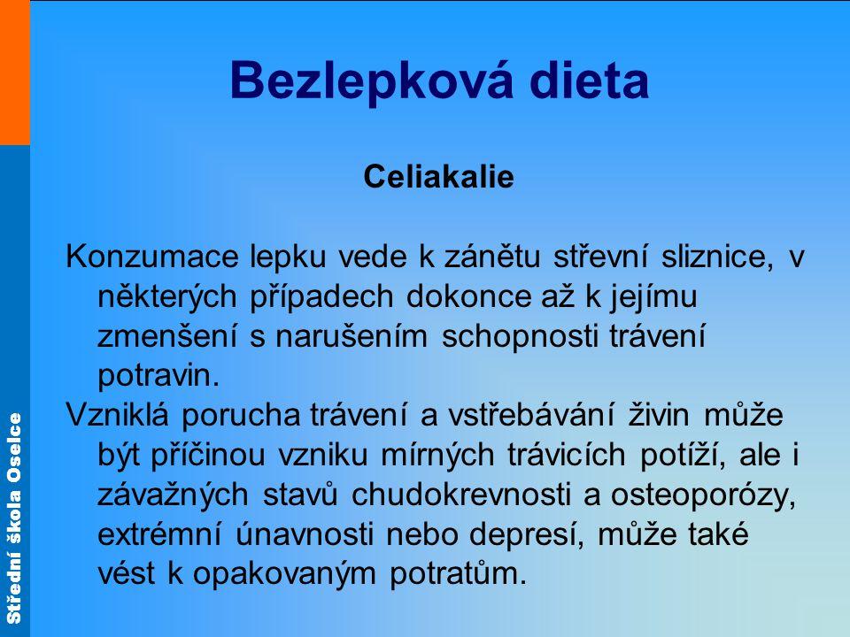 Bezlepková dieta Celiakalie