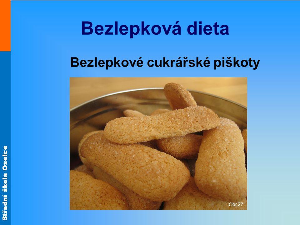 Bezlepkové cukrářské piškoty