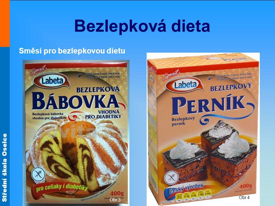 Bezlepková dieta Směsi pro bezlepkovou dietu Obr.4 Obr.3