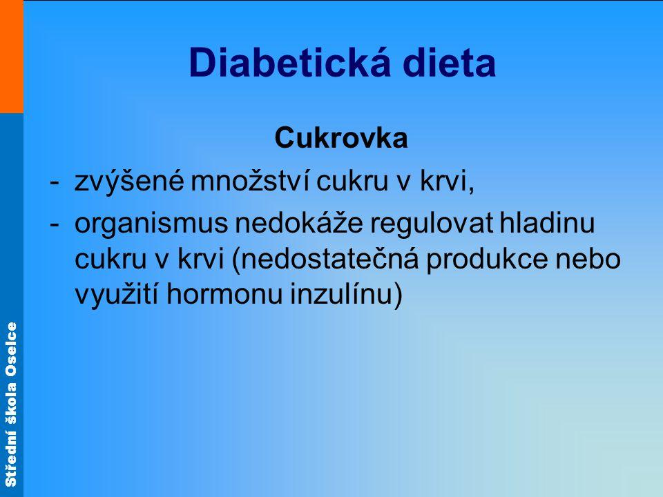 Diabetická dieta Cukrovka zvýšené množství cukru v krvi,