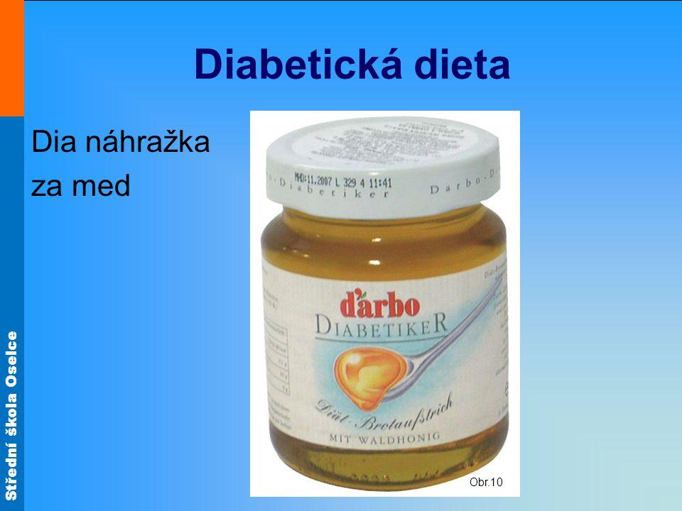 Diabetická dieta Obr.10 Dia náhražka za med
