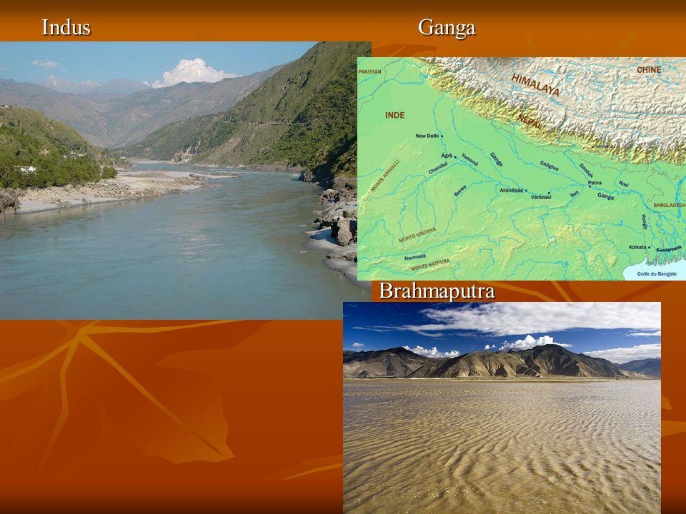 Indus Ganga Brahmaputra