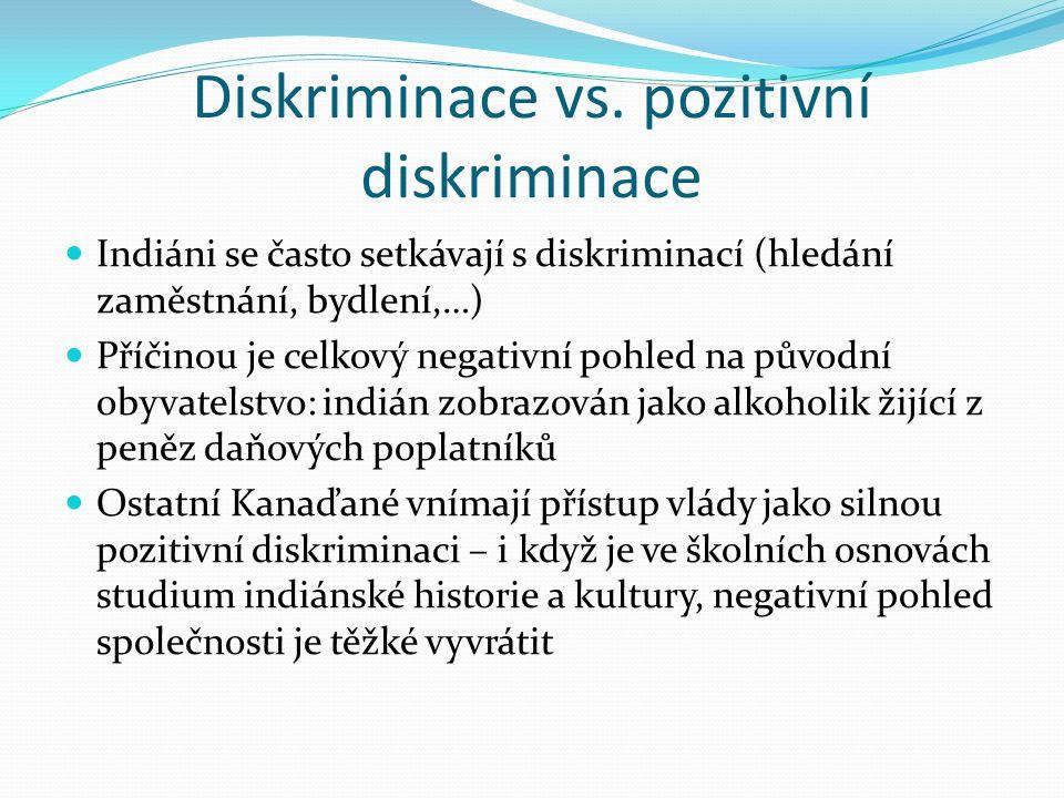 Diskriminace vs. pozitivní diskriminace
