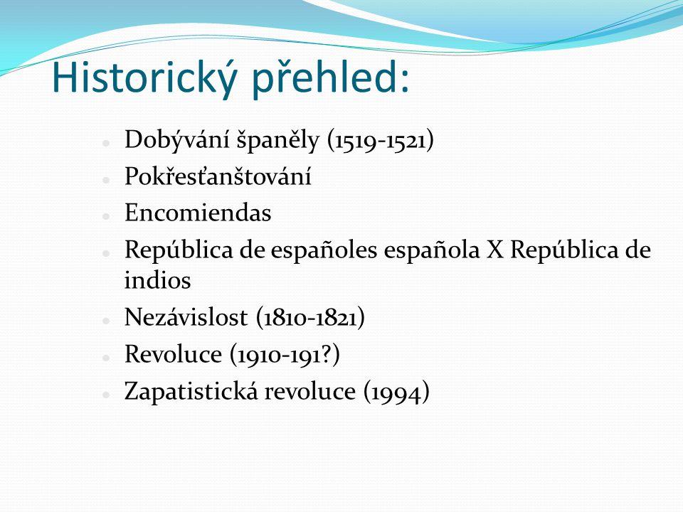Historický přehled: Dobývání španěly (1519-1521) Pokřesťanštování