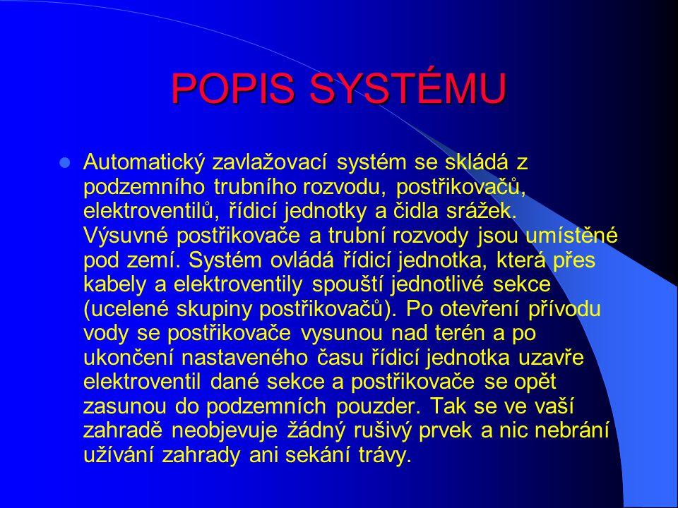 POPIS SYSTÉMU