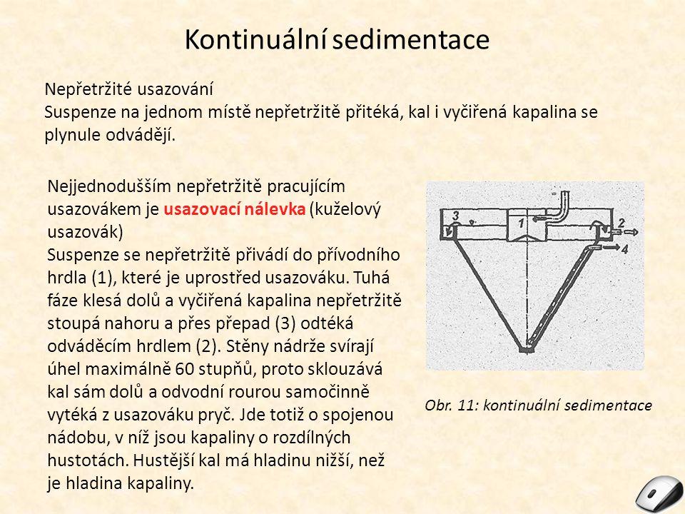 Kontinuální sedimentace