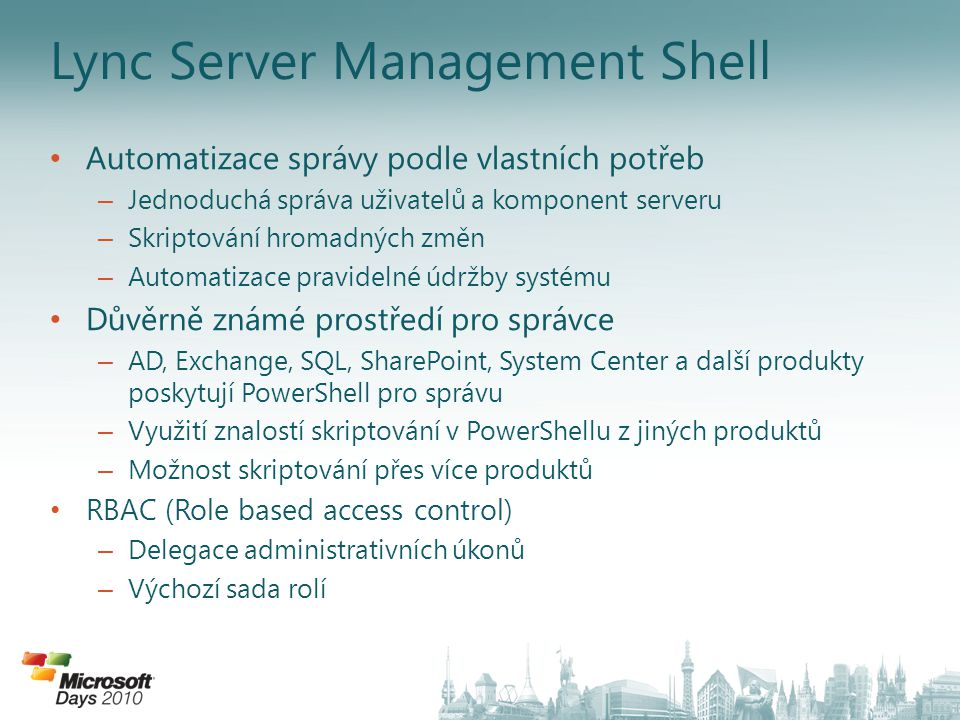 Lync Server Management Shell