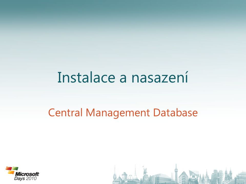 Central Management Database