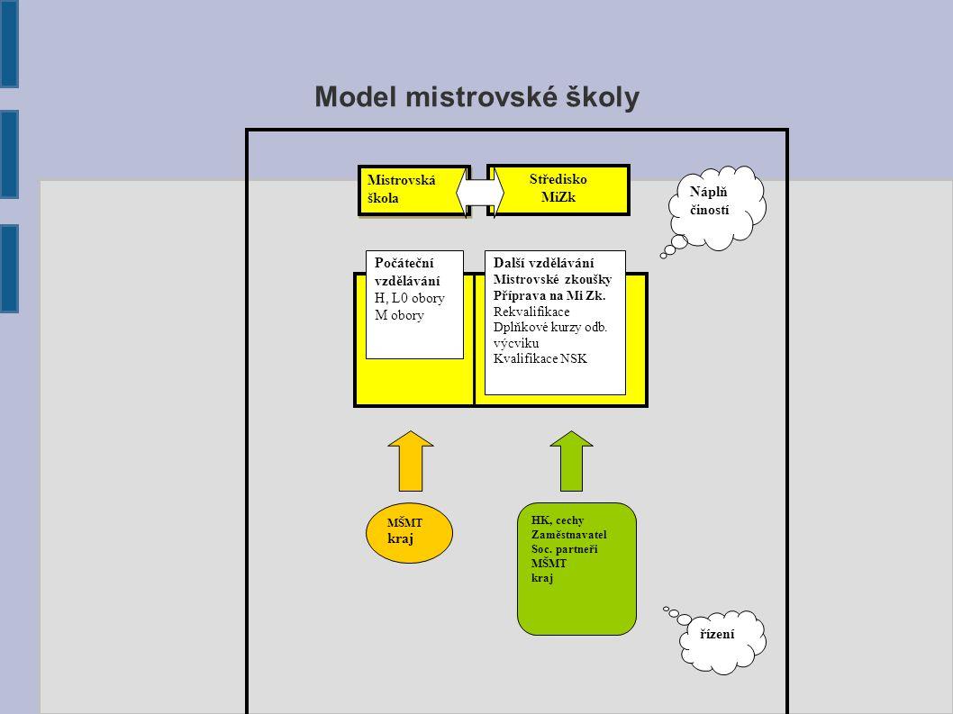 Model mistrovské školy