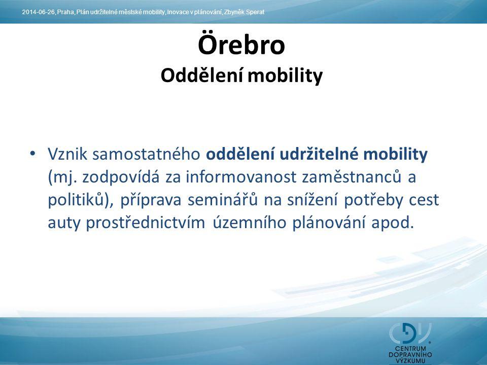 Örebro Oddělení mobility