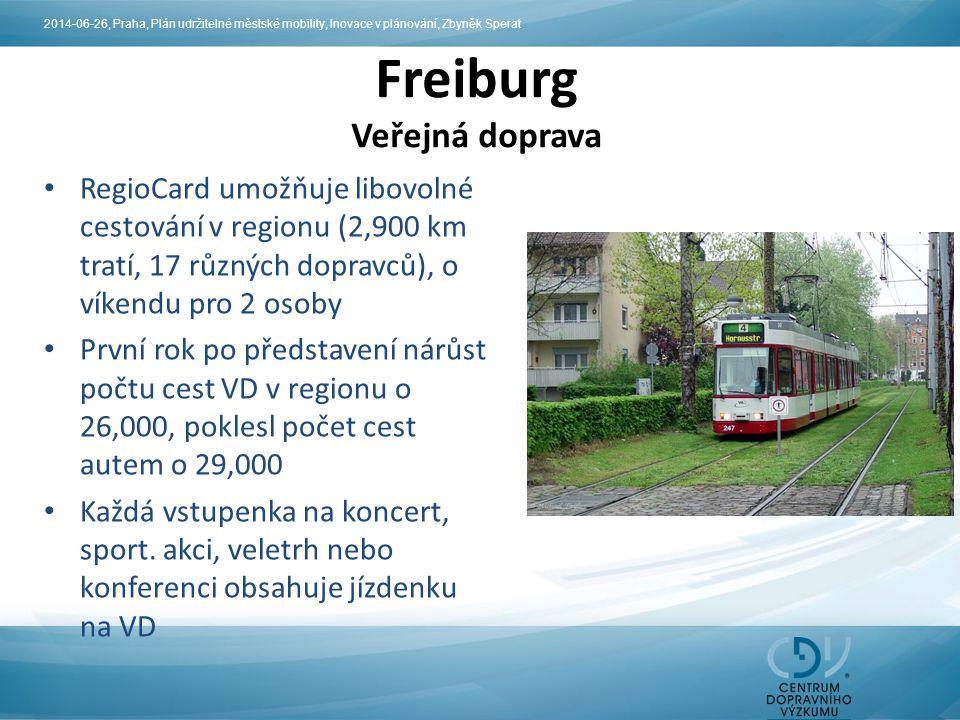 Freiburg Veřejná doprava