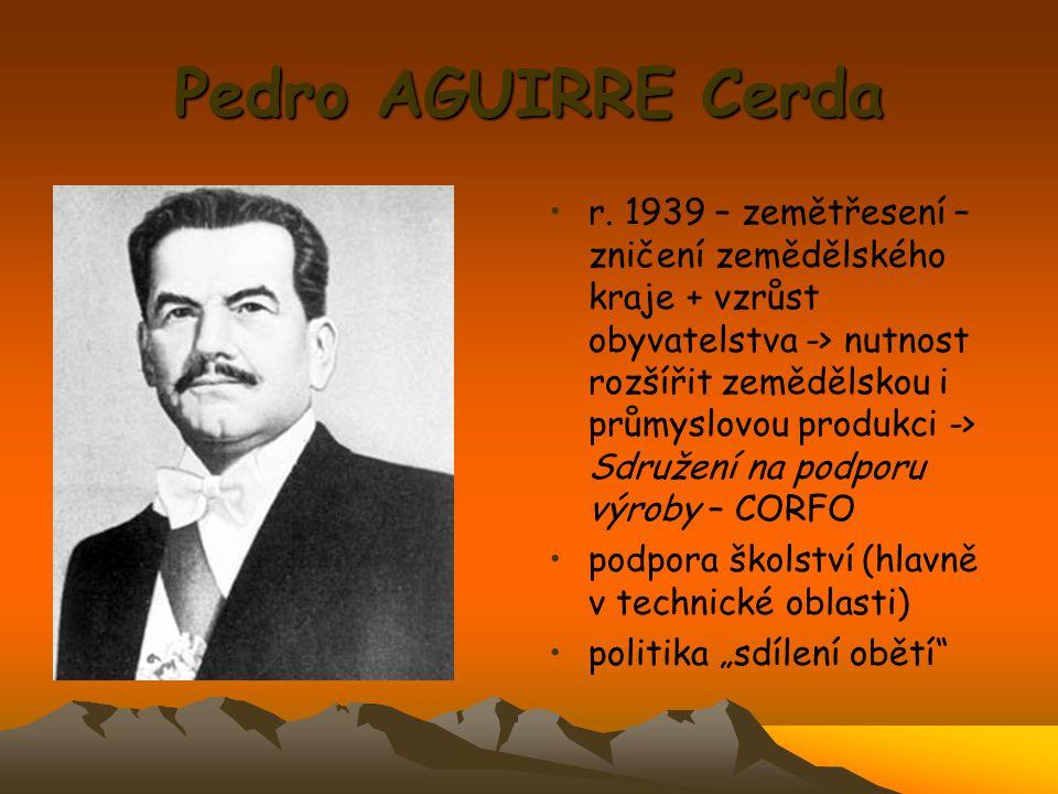 Pedro AGUIRRE Cerda