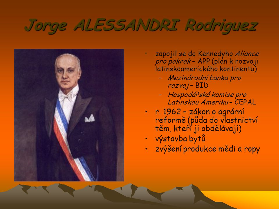 Jorge ALESSANDRI Rodriguez