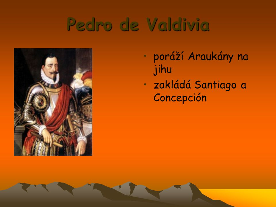 Pedro de Valdivia poráží Araukány na jihu