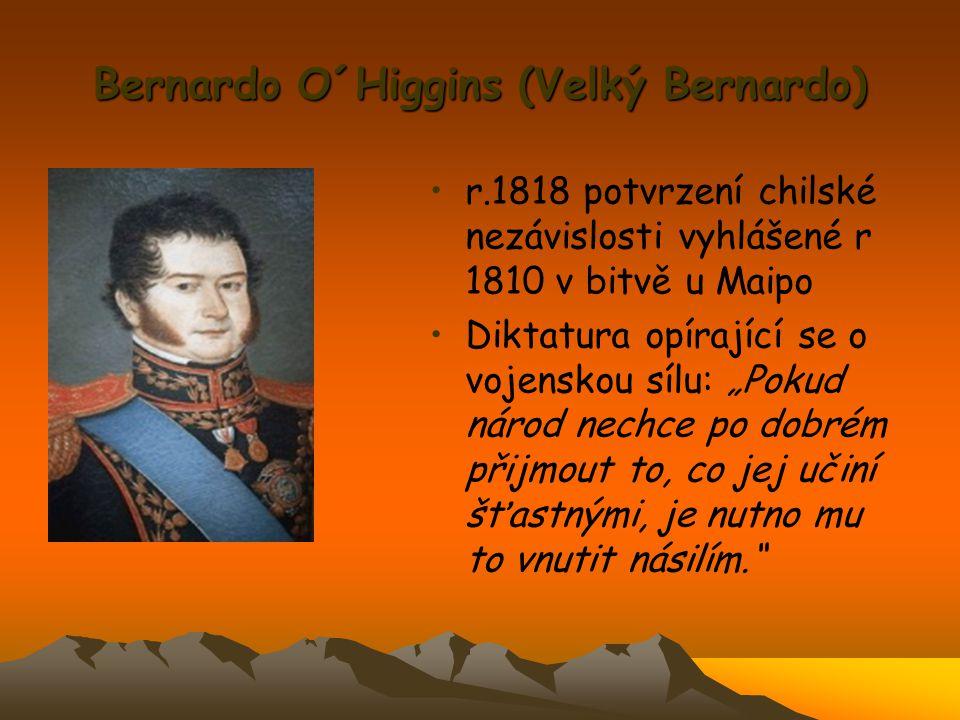 Bernardo O´Higgins (Velký Bernardo)