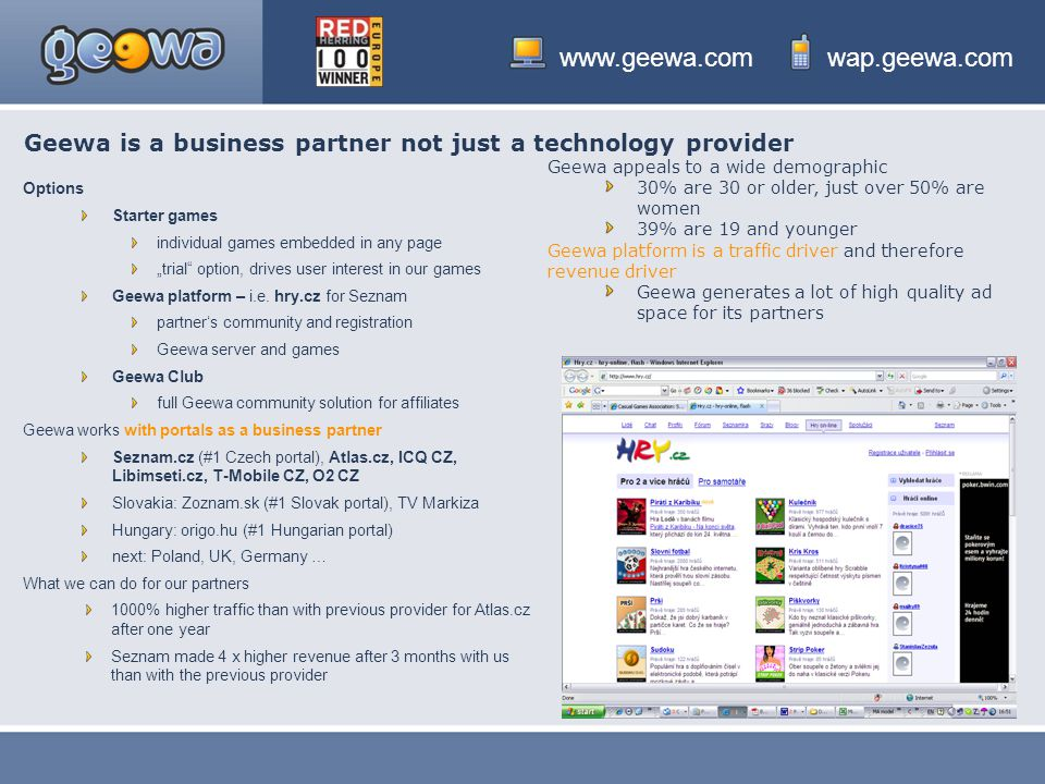 Geewa is a business partner not just a technology provider