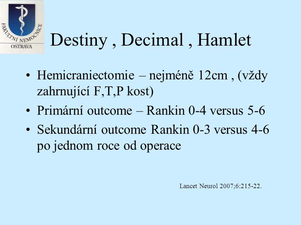 Destiny , Decimal , Hamlet