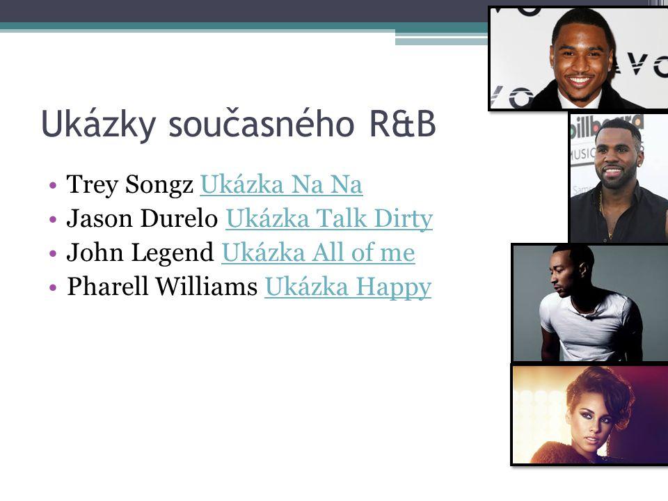 Ukázky současného R&B Trey Songz Ukázka Na Na