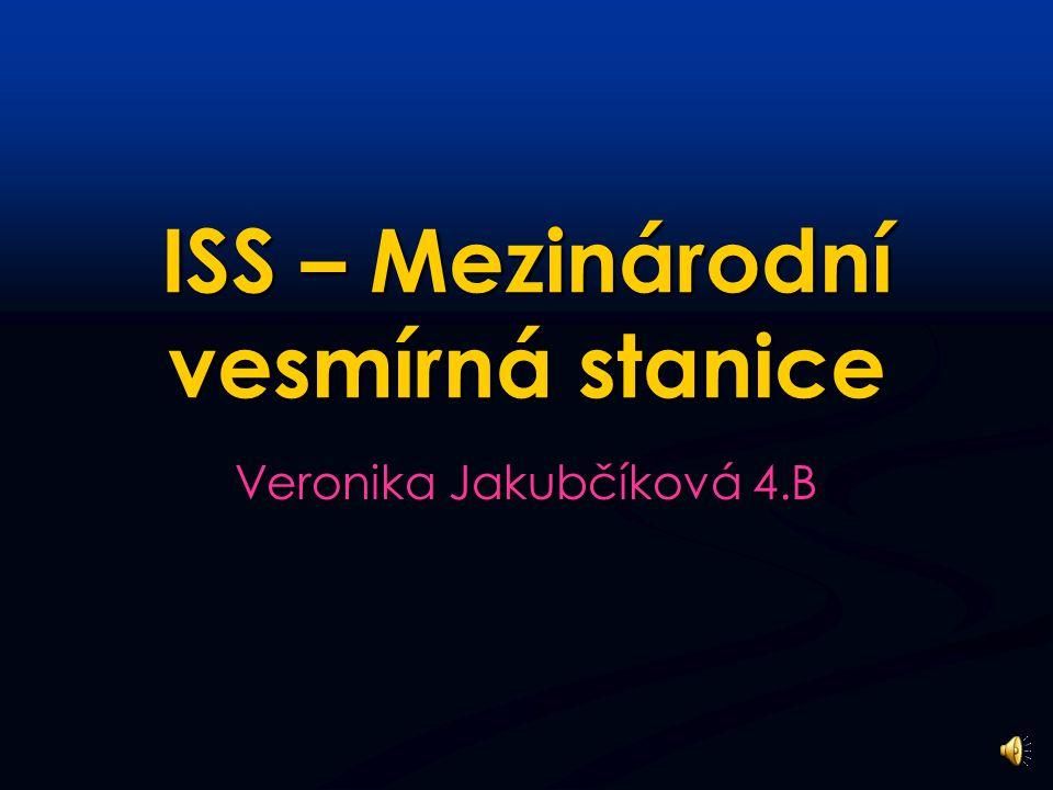 ISS – Mezinárodní vesmírná stanice