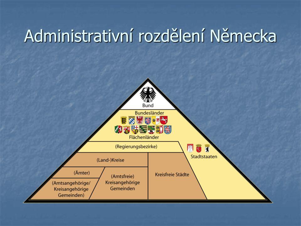 Administrativní rozdělení Německa