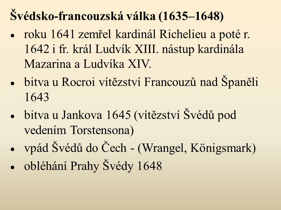 Švédsko-francouzská válka (1635–1648)